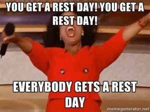 Rest Day Meme 2