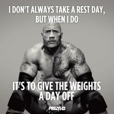 rest day rock
